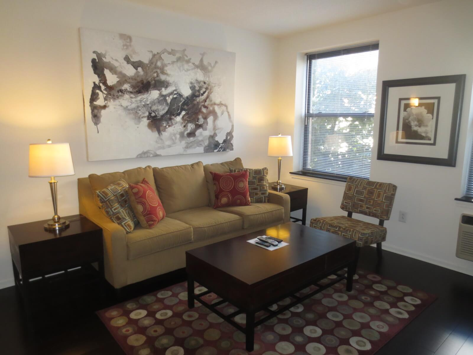 image 1 furnished 1 bedroom Apartment for rent in Morristown, Morris County