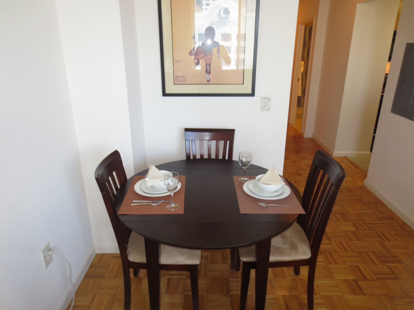 furnished 1 bedroom apartment for rent in jersey city hudson county
