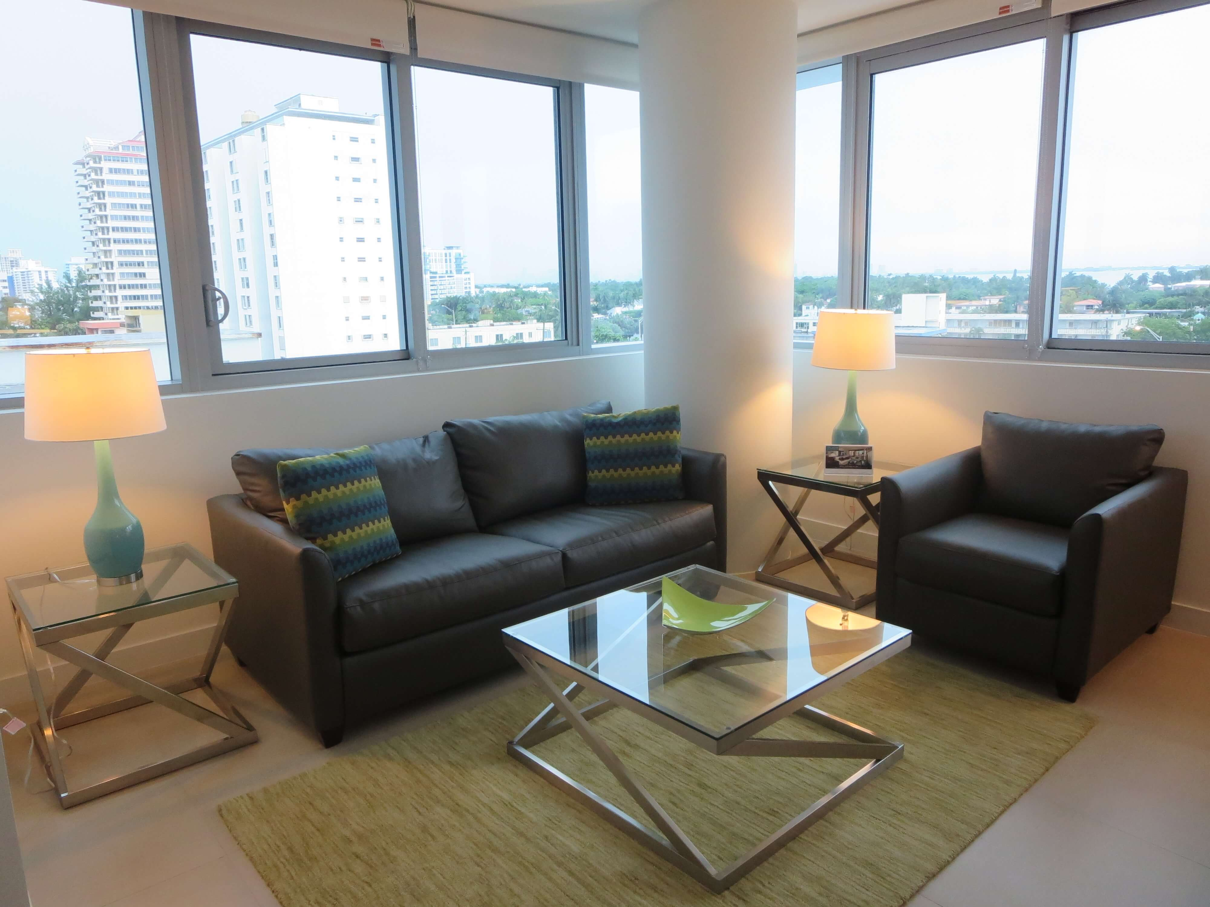 furnished 1 bedroom apartment for rent in miami beach miami area