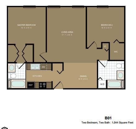 image 2 furnished 2 bedroom Apartment for rent in Morristown, Morris County