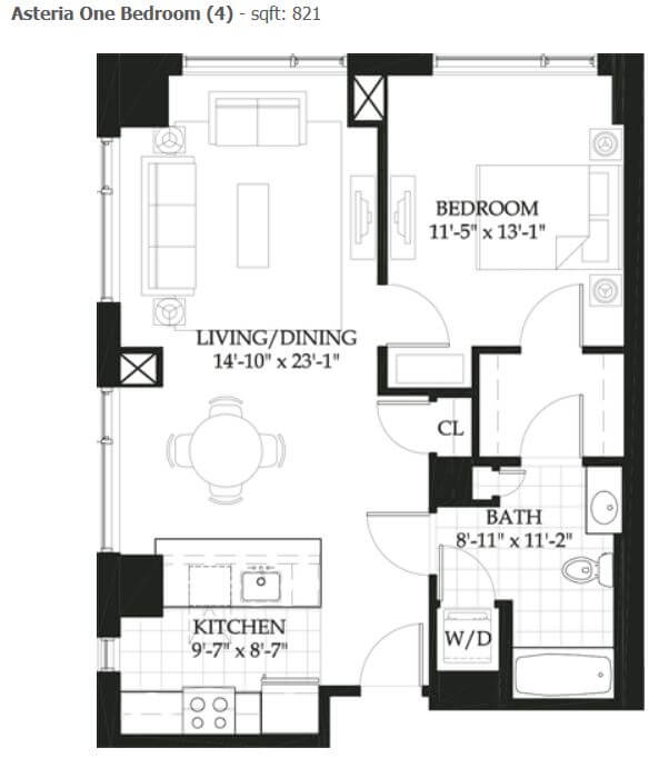 image 1 furnished 1 bedroom Apartment for rent in Beacon Hill, Boston Area