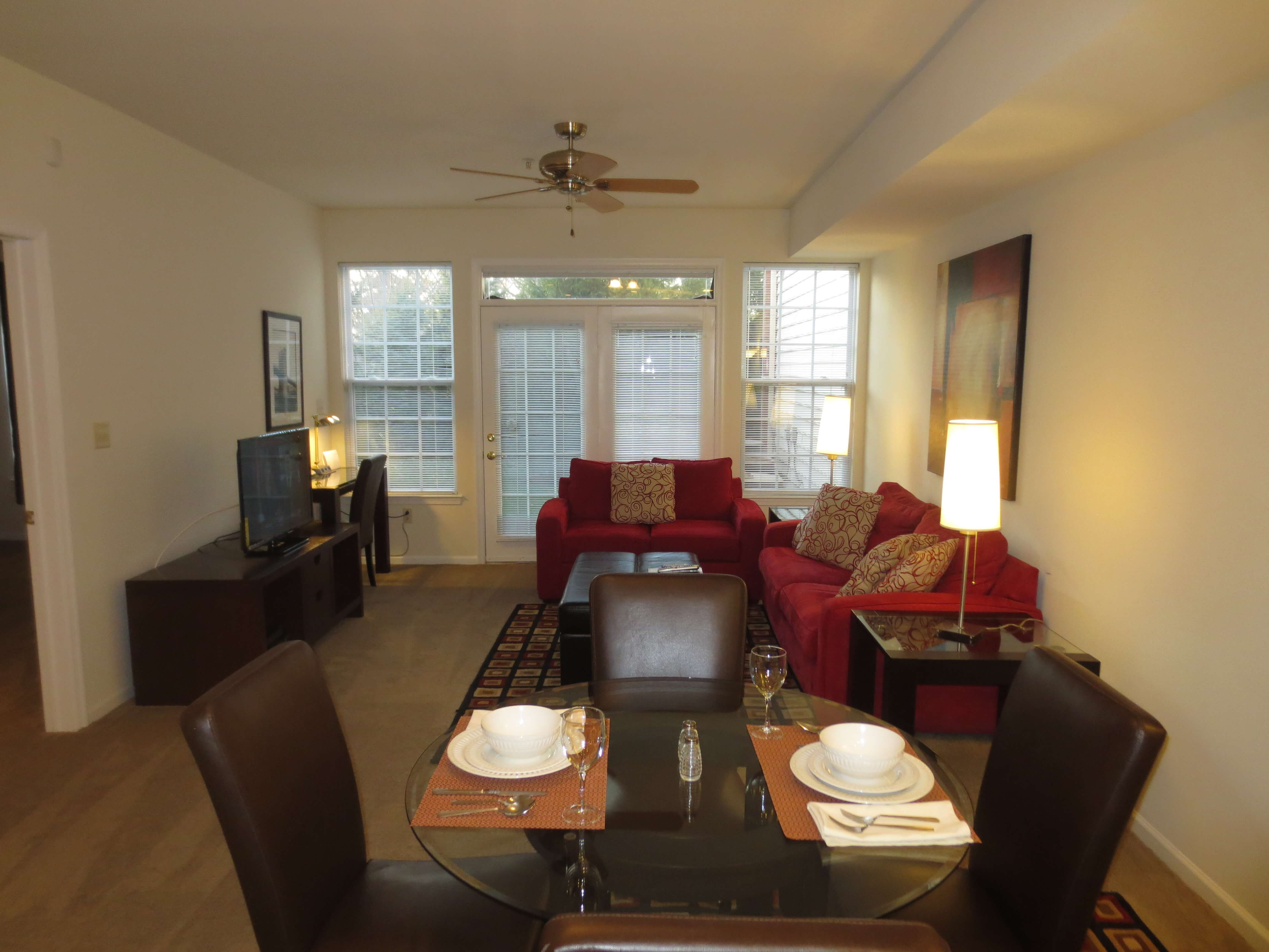 image 6 furnished 2 bedroom Apartment for rent in Princeton, Mercer County
