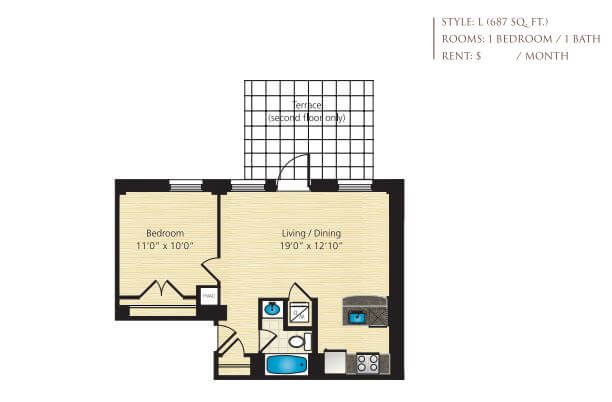 Click to view more images for  Apartment id 2870423