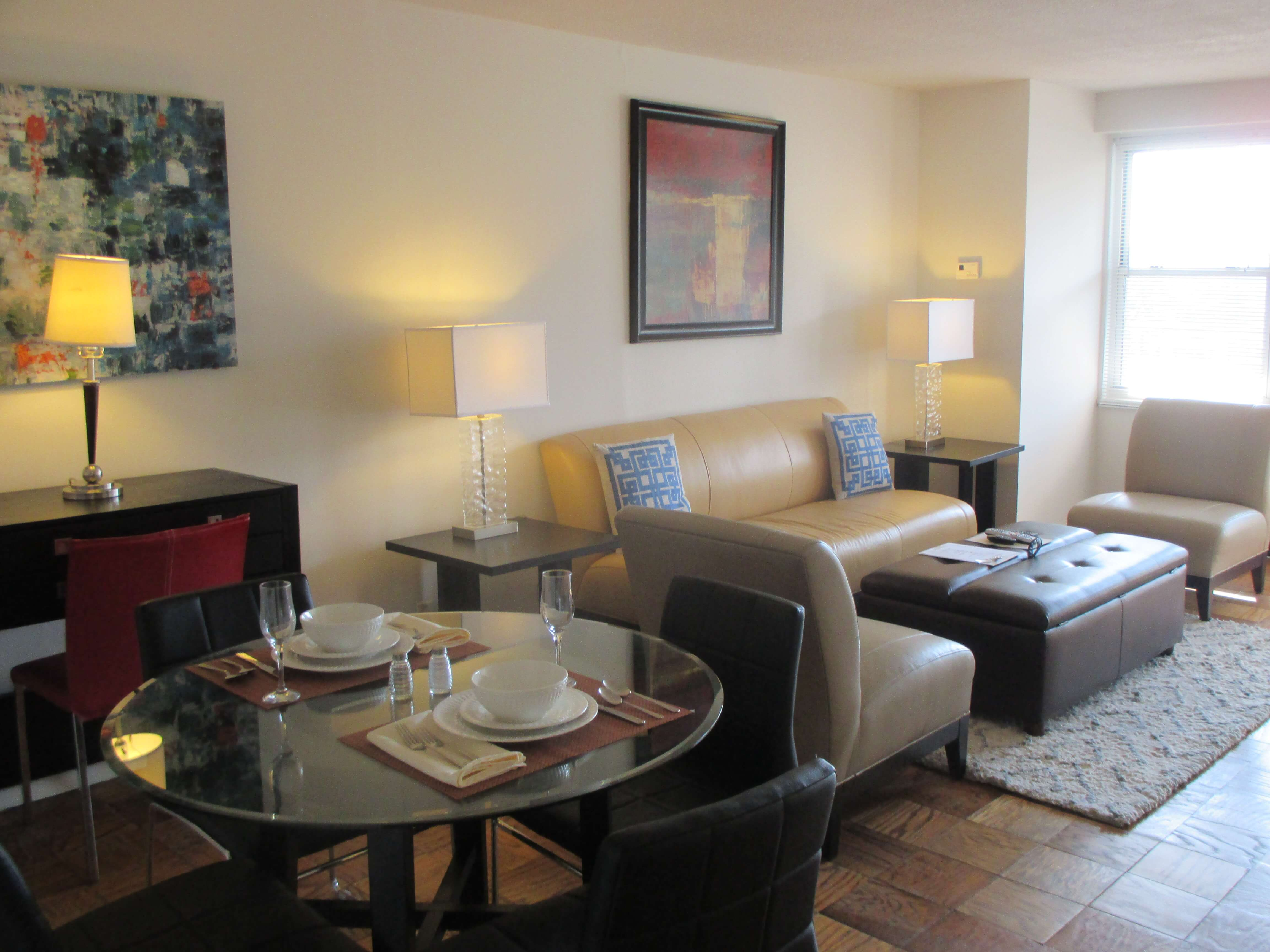 furnished 1 bedroom apartment for rent in mission hill boston area