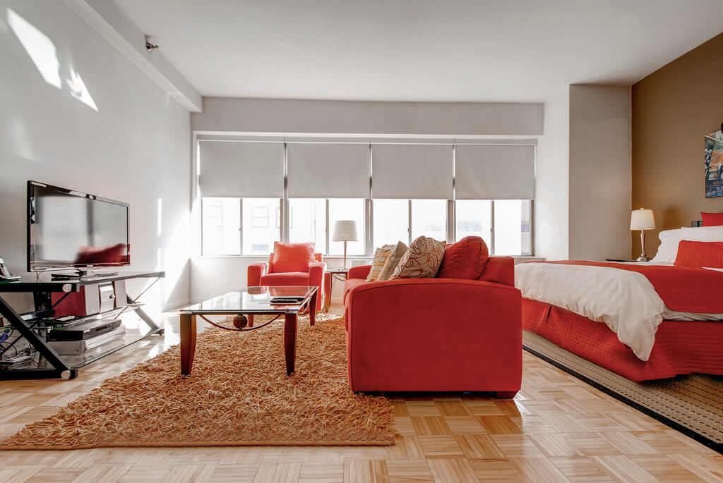 image 2 furnished 1 bedroom Apartment for rent in Battery Park City, Manhattan