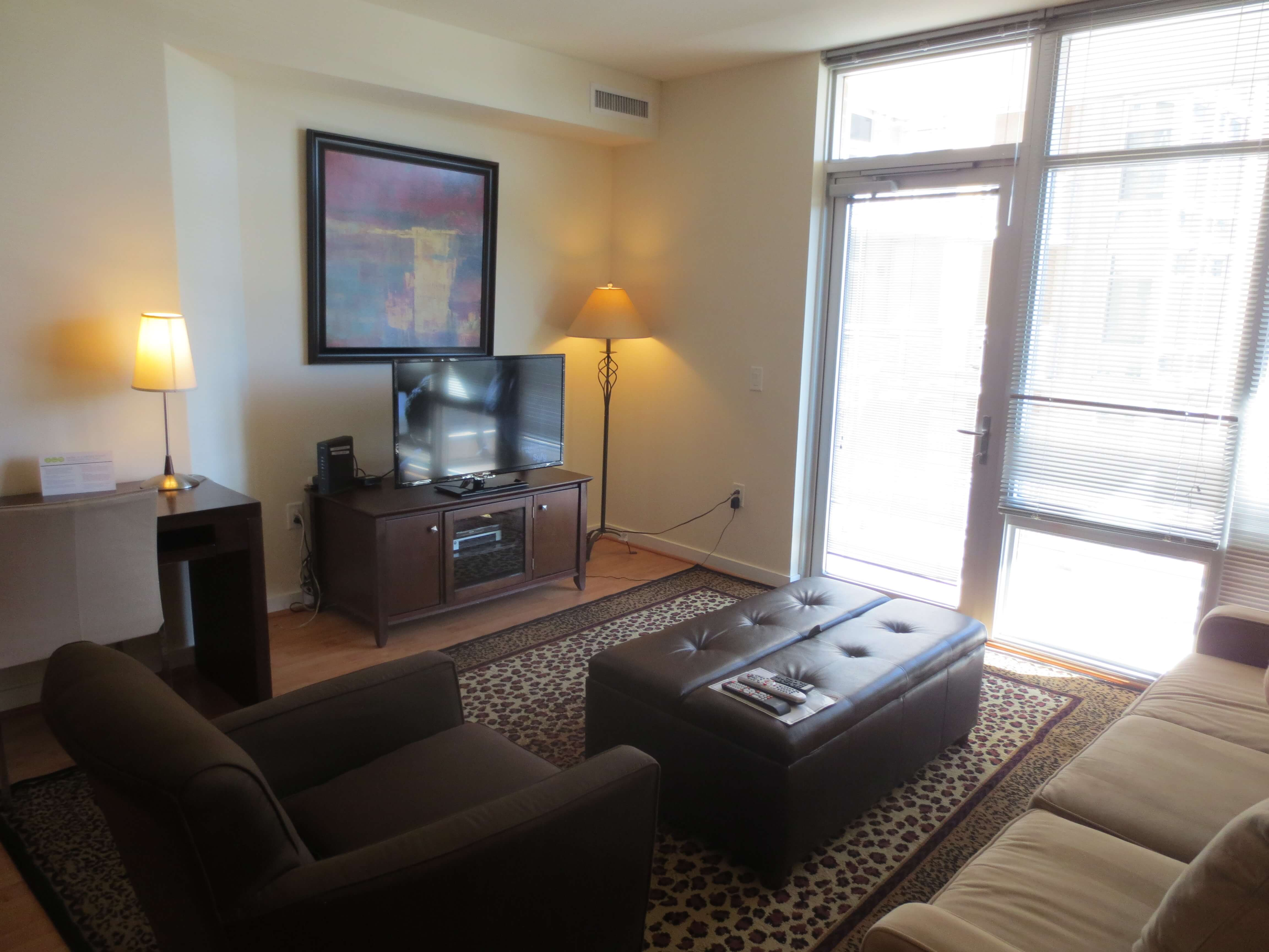 chevy chase furnished 2 bedroom apartment for rent 7980 per month