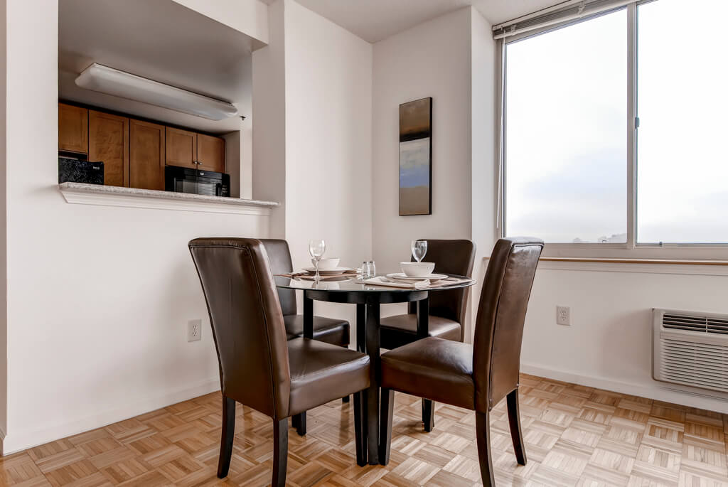 Jersey City Furnished 1 Bedroom Apartment For Rent 7080 Per Month Rental Id 3198677