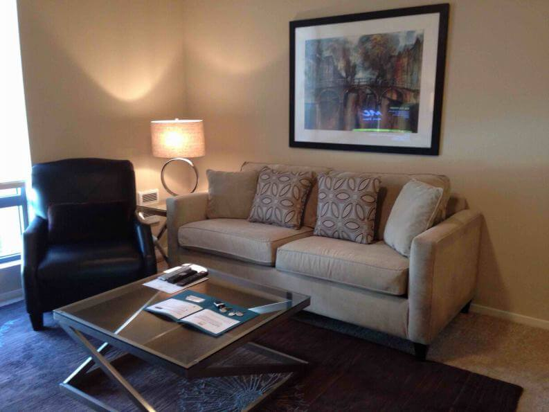 mission district furnished 1 bedroom apartment for rent