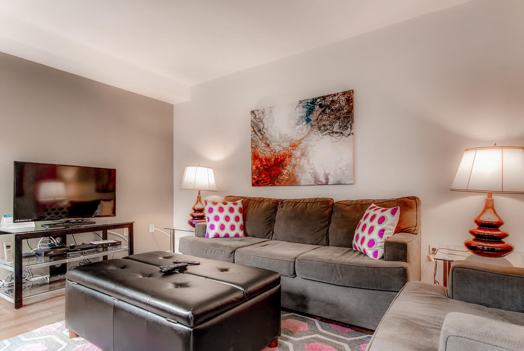 furnished 2 bedroom apartment for rent in back bay boston area
