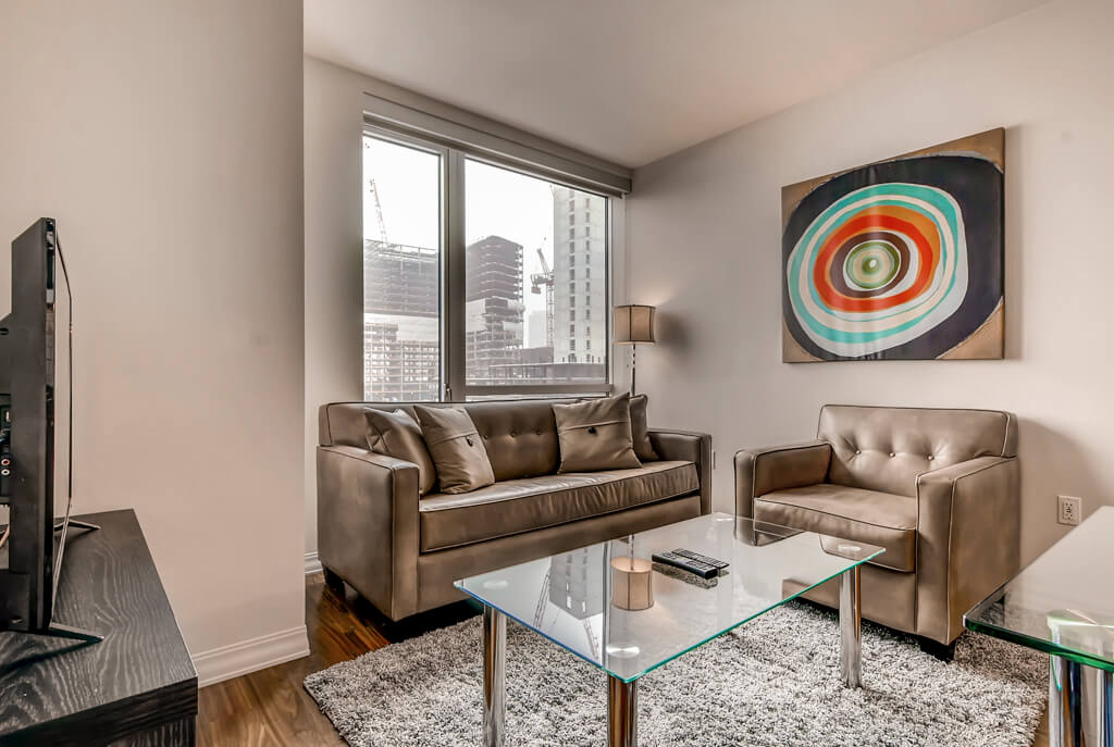 furnished 1 bedroom apartment for rent in waterfront boston area