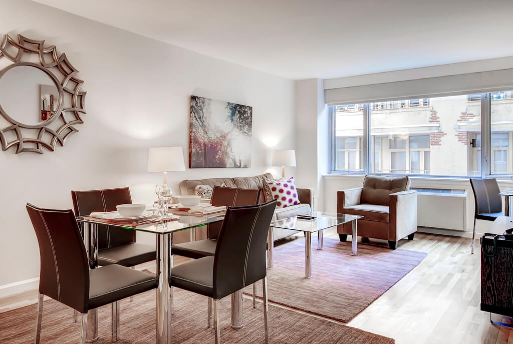 image 2 furnished 1 bedroom Apartment for rent in Chelsea, Manhattan