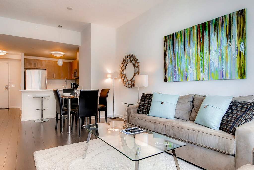 Jersey City Furnished 1 Bedroom Apartment For Rent 6480 Per Month Rental ID