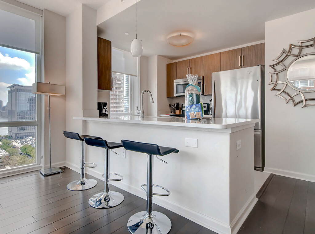 Jersey City Furnished 2 Bedroom Apartment For Rent 8280 Per Month Rental Id 3665597