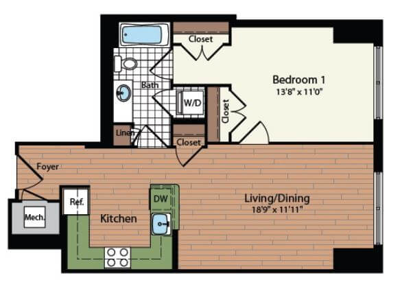 Click to view more images for  Apartment id 2870410