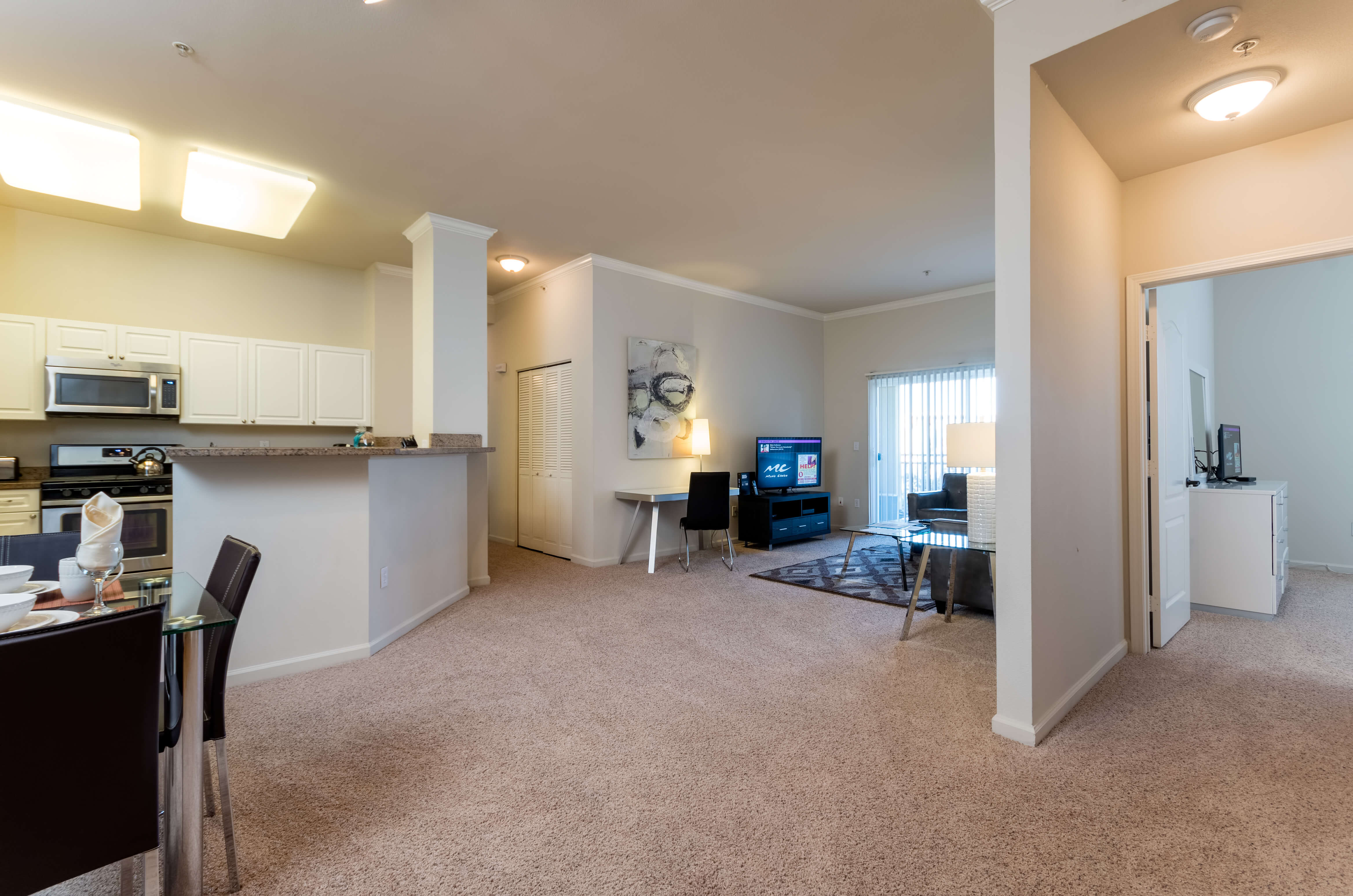 image 2 furnished 3 bedroom Apartment for rent in Santa Clara, Santa Clara County