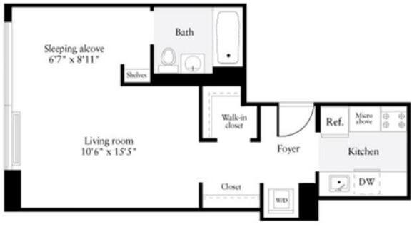 image 1 furnished 1 bedroom Apartment for rent in Murray Hill, Manhattan