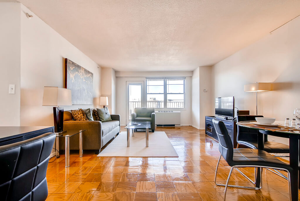 furnished 2 bedroom apartment for rent in mission hill boston area