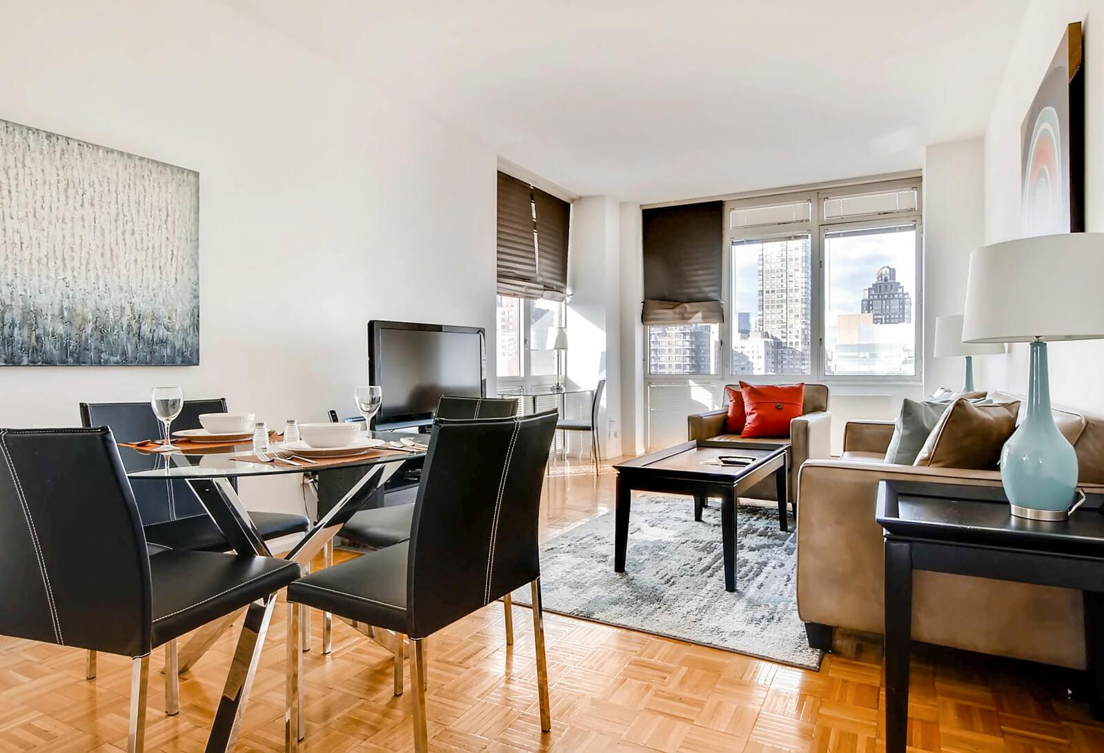 furnished 2 bedroom apartment for rent in upper east side manhattan