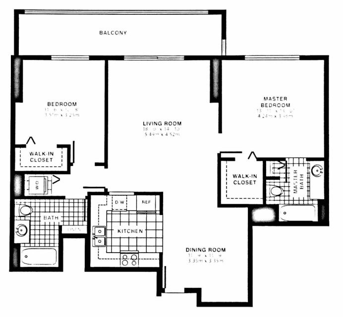 Miami Lakes Furnished 2 Bedroom Apartment For Rent 7680