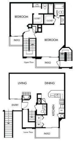 image 1 furnished 2 bedroom Apartment for rent in Pleasanton, Alameda County