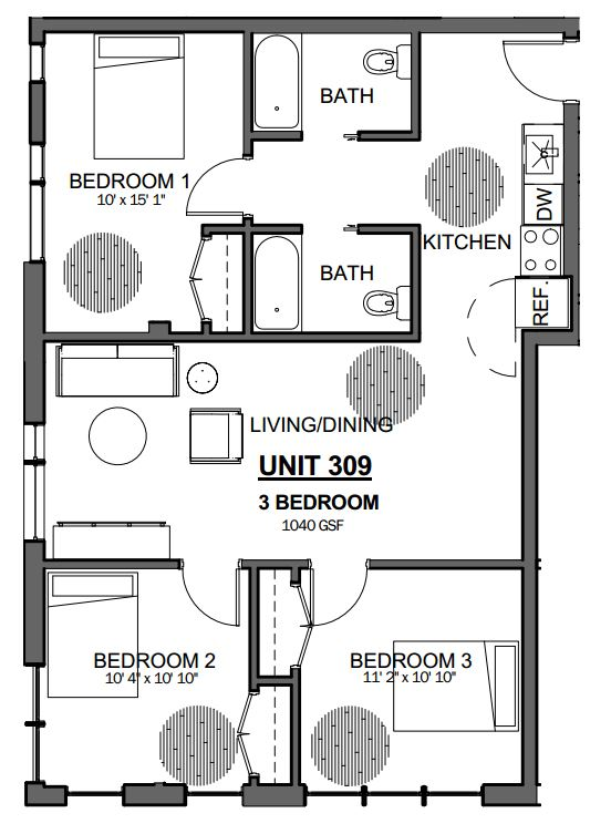 image 1 furnished 3 bedroom Apartment for rent in Jamaica Plain, Boston Area