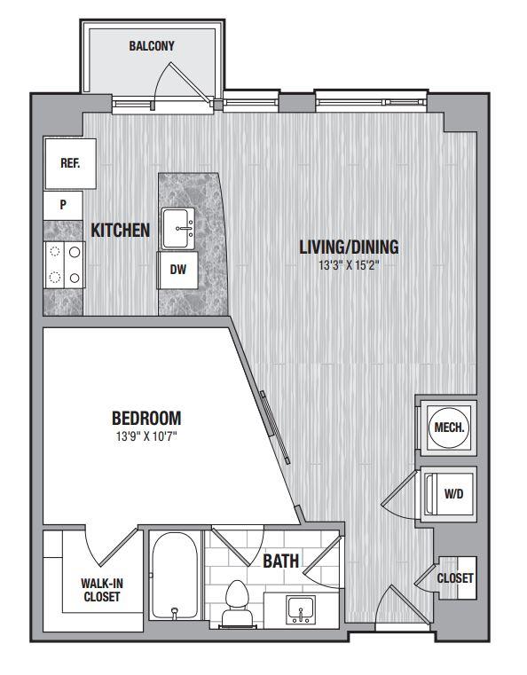1 bedroom Bethesda