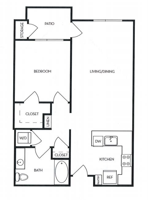 image 1 furnished 1 bedroom Apartment for rent in Menlo Park, San Mateo (Peninsula)