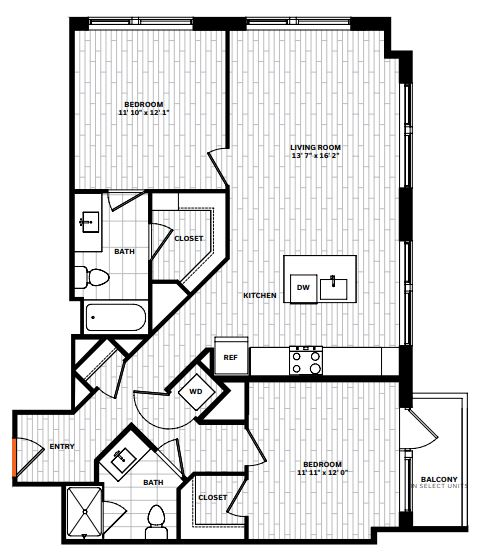 image 1 furnished 2 bedroom Apartment for rent in Arlington, DC Metro