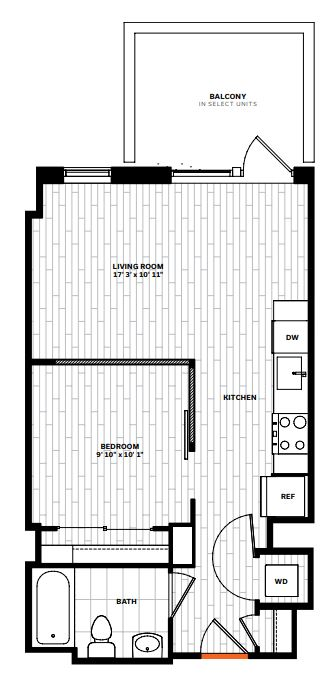 image 1 furnished 1 bedroom Apartment for rent in Arlington, DC Metro