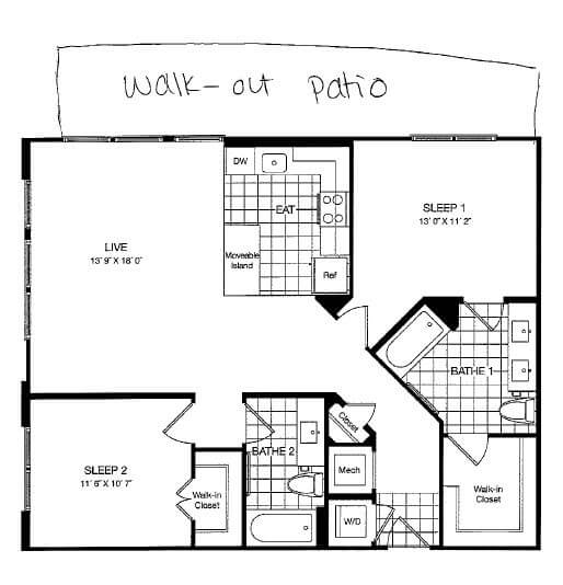 image 5 furnished 2 bedroom Apartment for rent in Vienna, DC Metro