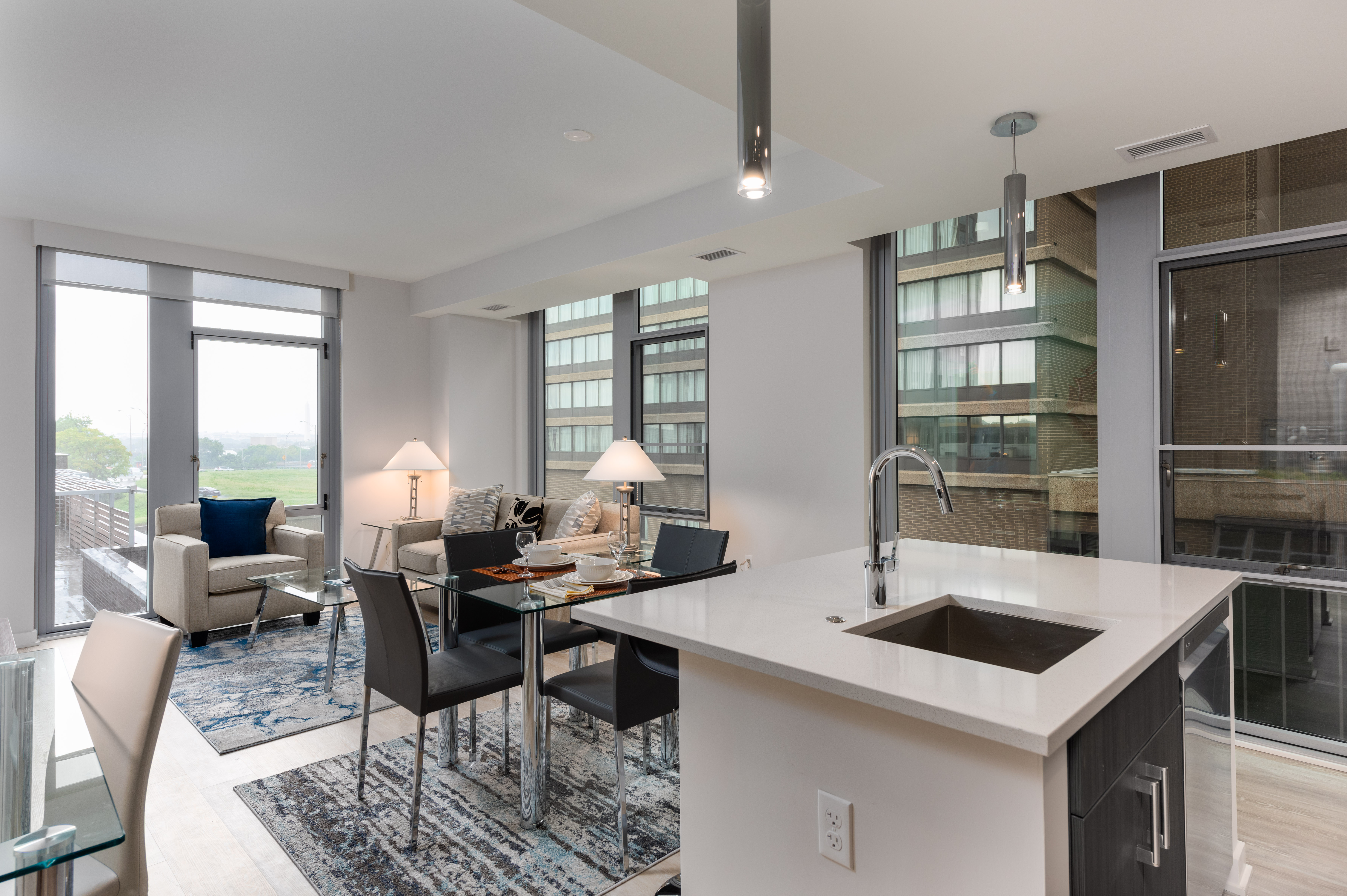 image 2 furnished 2 bedroom Apartment for rent in Arlington, DC Metro