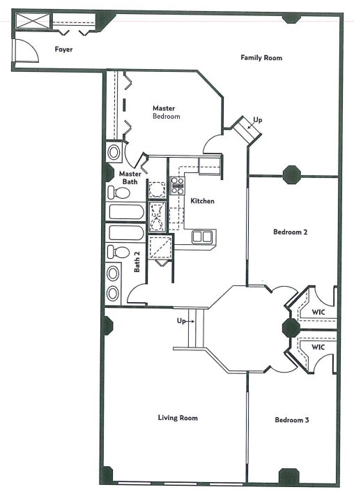 image 1 furnished 3 bedroom Apartment for rent in Cleveland Heights, Cuyahoga County