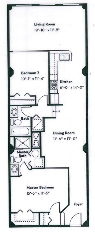 image 1 furnished 2 bedroom Apartment for rent in Cleveland Heights, Cuyahoga County