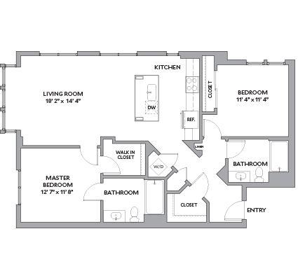 image 1 furnished 2 bedroom Apartment for rent in San Carlos, San Mateo (Peninsula)