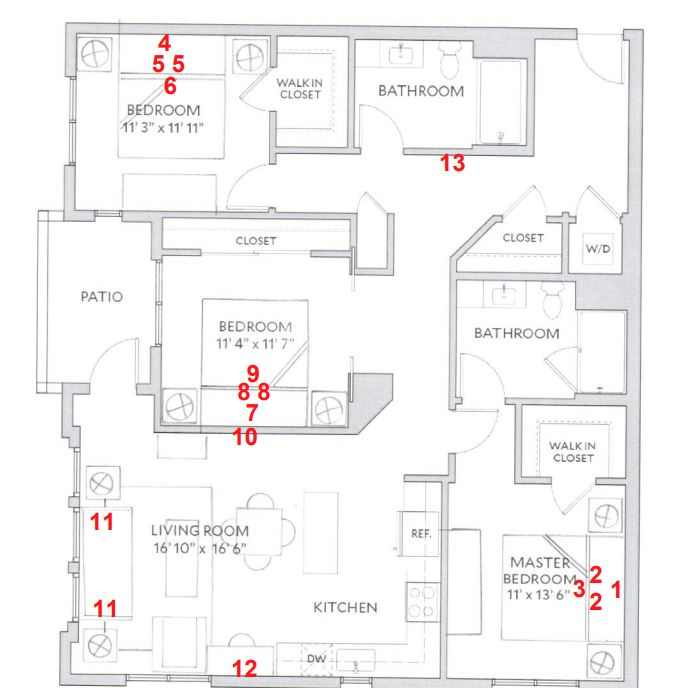 image 1 furnished 3 bedroom Apartment for rent in San Carlos, San Mateo (Peninsula)