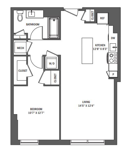 image 1 furnished 1 bedroom Apartment for rent in Reston, DC Metro